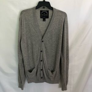 JACOBS BY MARC JACOBS CASHMERE BUTTON UP CARDIGAN